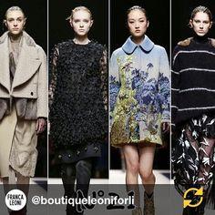 #AlessandroDellAcqua Alessandro Dell'Acqua: RG @boutiqueleoniforli: N.21#alessandrodellacqua#milan#fashion#show#nice#we#love#N21#coolgirls#nice#collection#fw15#❤️ #regramapp