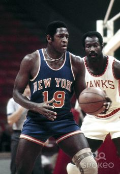 Willis Reed vs. Walt Bellamy