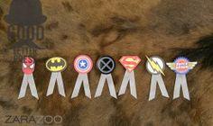 Super hero boutonnieres