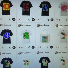 いつの間にやらこんなにたくさん短期間に150以上出品してしまいました  http://ift.tt/1fOqzDR  #UTme#ユニクロ#suzurijp#suzuri#MailOrder#ClothesDesign#crayonspencils#Tシャツデザイン