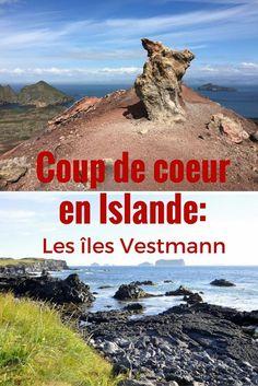 A découvrir lors d'un voyage en Islande: les îles Vestmann, avec randonnées, volcans et macareux Monteverde, Surf, Natural Salt, Voyage Europe, Destination Voyage, Blog Voyage, Blue Lagoon, Future Travel, Travel Packing