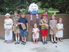 Mother Goose birthday party ideas: activities and food.