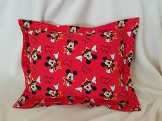 Check out this item in my Etsy shop https://www.etsy.com/listing/564022477/mickey-mouse-nap-pillow-daycare-pillow
