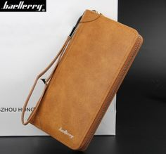 Baellerry New Arrival High Quality Leather wallets Mens brand Clutch Wallet  Men Purse Big Capacity Leather ffa933b7cc1eb