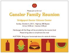Family Reunion Flyer Download Edit And Print Part Of FimarkS