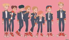 lucas with nct dream lmaoo Lucas Nct, K Pop, Kpop Drawings, Kpop Fanart, Aesthetic Art, Jaehyun, Drawing Reference, Nct Dream, Nct 127
