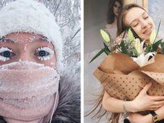 Девушка прославилась, показав трудности жизни в Якутии зимой - Мысли о любви - все лучшее из сети!