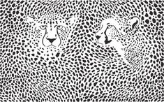 Cheetahs Background With Heads Stock Vector - Illustration of background, print: 85345569 Cheap Wall Tapestries, Tapestry Wall Hanging, Cheetah Background, Cheetah Skin, Leopard Party, Fashion Themes, Boho Room, Cheetahs, Free Illustrations