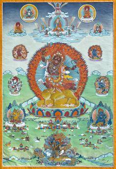 Tibetan Art, Tibetan Buddhism, Thangka Painting, Shiva, Karma, Buddha, Mandala, Kids Rugs, School