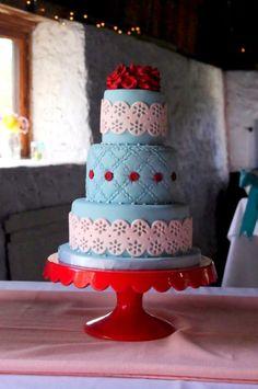 Wedding Cake by Sugarbelle Cake