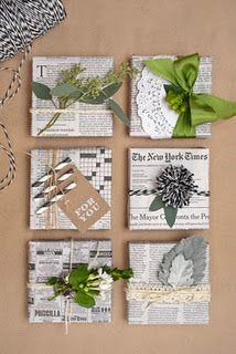 #giftwrap #newspaper