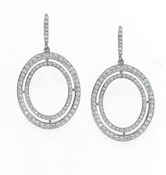 Ivanka Trump Signature Oval Earrings from James Free Jewelers