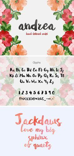 Andrea Script - free font!