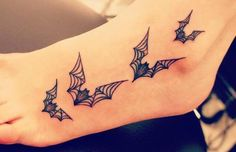 Top 10 Bat Tattoo Designs