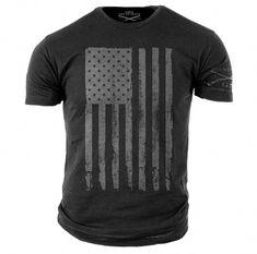 084b442402b4a2 America T-Shirt Grey- Grunt Style Military Men s Graphic Tee Shirt  menst-