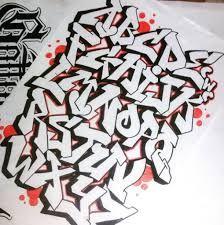 Billedresultat for graffiti alphabet