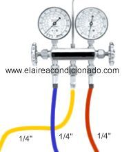 Manómetros Aire Acondicionado Acondicionado Refrigeracion Y Aire Acondicionado
