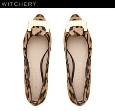 Witchery animal print shoes