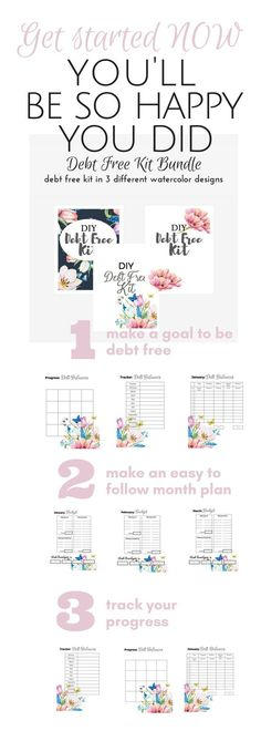 Printable Cash Budget Kit - financial planner, budget templates - how to make a budget plan spreadsheet