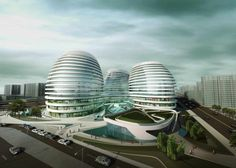 Galaxy SOHO | Zaha Hadid Architects http://www.arch2o.com/galaxy-soho-zaha-hadid-architects/