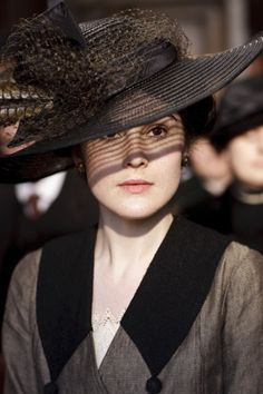Michelle Dockery as Lady Mary Crawley in Downton Abbey                                                                                                                                                                                 Plus