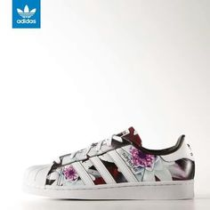 adidas superstar dames flower