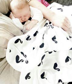 Black Swan blanket from Deer One is 100% GOTS certified organic. www.deerone.com.au