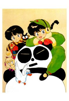 Art of Ranma ½ Manga Artist, Comic Artist, Dojo, Inuyasha, Manga Anime, Panda, Oriental, Pin Art, My Pokemon