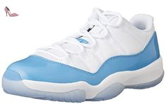 new product 258b0 c9bcd Nike Air Jordan 11 Retro Low Blanc 528895-106  Amazon.fr  Chaussures et Sacs