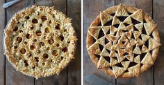 This Baker's Before & After Pics Of Her Amazing Pie Crusts Will Make Your Mouth Water | Bored Panda