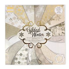 Gilded Winter First Edition Premium Paper Pad 48 Sheet