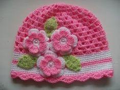 Super Ideas For Crochet Bebe Gorros Crochet Kids Hats, Crochet Cap, Baby Girl Crochet, Crochet Gloves, Newborn Crochet, Crochet Beanie, Love Crochet, Irish Crochet, Crochet Crafts
