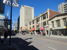 Toronto Yonge Street, south of Gerrard St. Yonge Street, Downtown Toronto, Street View