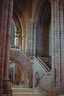 The Anglican Cathedral   Liverpool   England