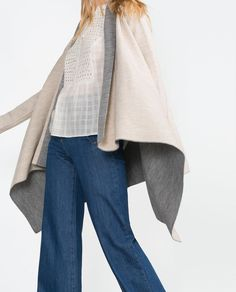 Image 4 of DOUBLE-SIDED CARDIGAN from Zara
