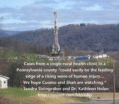 Environmental Health Study on fracking