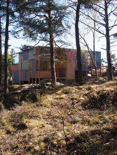 Sommerhytte Hansen/Lindstad, Hvaler. Foto: Knut Hjeltnes