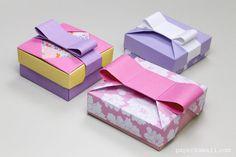 Origami Gift Box – Mix & Match Lids