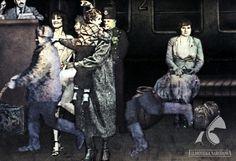 """""""Dworzec"""" - dir. Marek Serafiński (1984).  #polish #animation Polish, Animation, Enamel, Varnishes, Nail Polish, Animation Movies, Anime, Nail, Animated Cartoons"""