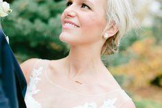 The Original Lake Geneva Necklace by Kerry Gilligan for a wedding at Lake Geneva // Photography by Carl McCray  #wedding #bridal #bride #jewelry #bridaljewelry #lakegeneva #geneva #lake #wisconsin #flowers