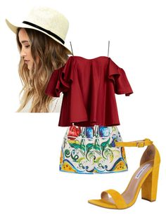 """Pop folk look"" by missrorodu46 on Polyvore featuring mode, Dolce&Gabbana, LULUS, Anna October et Steve Madden"