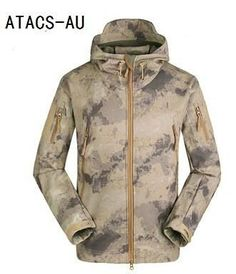 Hiking Clothings Camping & Hiking Creative Lanbaosi Outdoor Mens Softshell Camo Hooded Jackets Fleece Windproof Waterproof Anti Scratch Hiking Camping Trekking Outwear In Many Styles