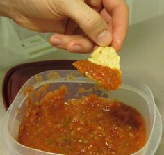 Homeade salsa!
