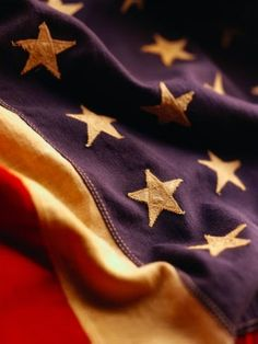 """vintage flag....there are few things more beautiful than the """"AMERICAN"""" flag!"""