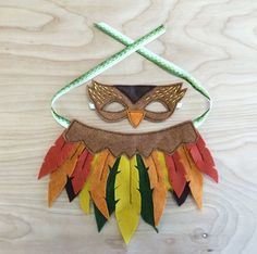 Doll Owl Mask + Wing Set | Opposite of Far- play + imagine // so cute!