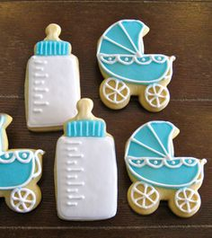 Simple Baby Shower Cookies