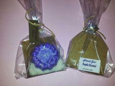 Natural Glow  : Purple Coconut soap