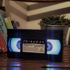 Hi there and thank you for viewing my item!  Handmade by NancysJars a retro light lamp made from a VHS. These cool night lights can be made to order for a special, one off, personal gift.  They can be made based on any film, band or actor (Jurassic Park, Star Trek, One Direction, Football clubs) and where possible I will always use an original VHS for that ultimate retro feel. You can also pick what colour lights (this one has rainbow) or leave it to NancysJars to get creative!  The lights…