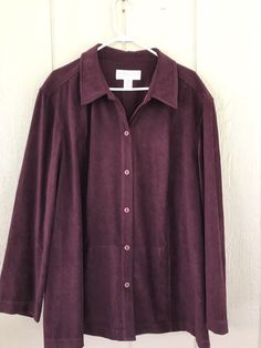 Maggie McNaughton Women's Pant Suit With Jacket Long Sleeve Button Down Size 22W #MaggieMcNaughton #PantSuit