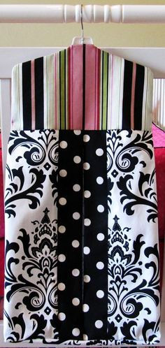 Madison collection diaper stacker by BloomingBabyBedding on Etsy, $39.00
